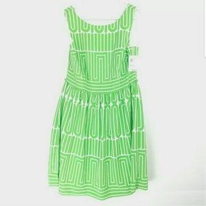 Trina Turk Womens Size 12 Dress DEADSTOCK BoatNeck